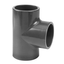 PVC Druk T-stuk 90° 3 x M PN16