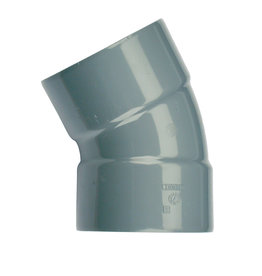 Wadal PVC L-Bocht 30° M/M