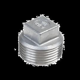 RVS 4-kant plug