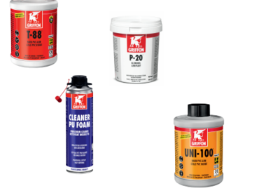 Glue, cleaner and accessories