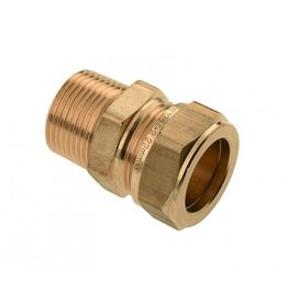 Transition coupling Male thread x Compression