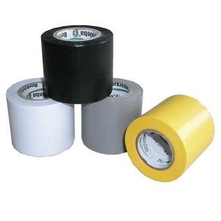 Installatie Tape 50mm X 10 Meter Grijs / Geel / Zwart / Wit