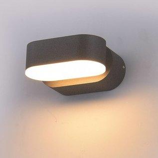 LED Wandleuchte kippbar schwarz 6 Watt 3000K