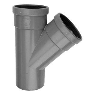 PVC RM-T-stuk 45° SN4 M/M/S