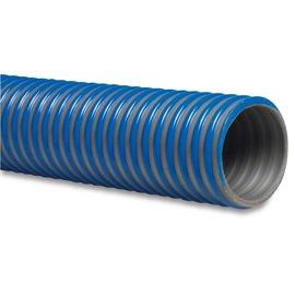 Agriflex 25 mm zuigslang blauw mega agriflex