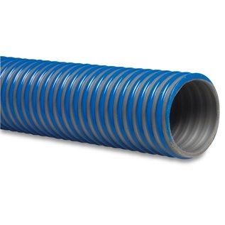 Agriflex zuigslang blauw mega agriflex