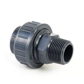 """Pvc Druk Overgangskoppeling 50 mm x 1 1/2"""" bu dr"""