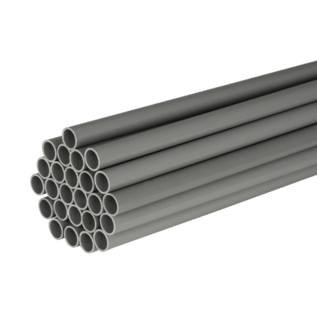 PVC elektrobuis grijs 5/8'' -16mm