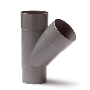 Wandal PVC L-T-Stuk 45° M/M/S