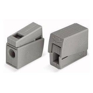 WAGO kroonklem 2,5mm2  grijs (p/stuk)