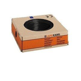 mounting cord black 2.5mm