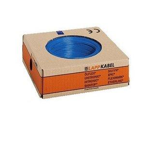 H07V-K 1x1,5 blauw 100m