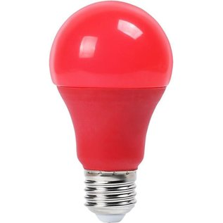 LED A60 RED Color Bulb 9W/3000K