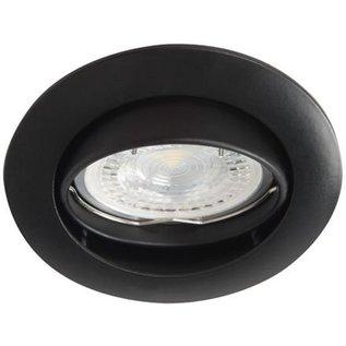 kanlux plafond spot, zwart, kantelbaar