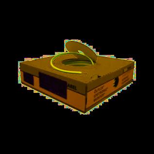 Montagesnoer 1x1,5 groen/geel
