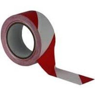 Afzetlint rood wit 500 meter