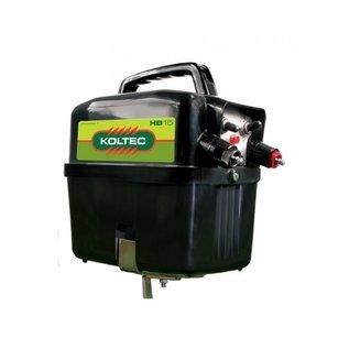 Batterijapparaat KOLTEC HB15, inclusief 9V-75 Ah Alk.batterij