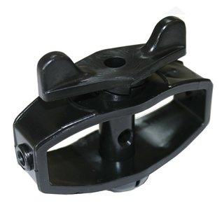 Draadspanner, versterkt, kunststof, zwart per 2 verpakt KOLTEC