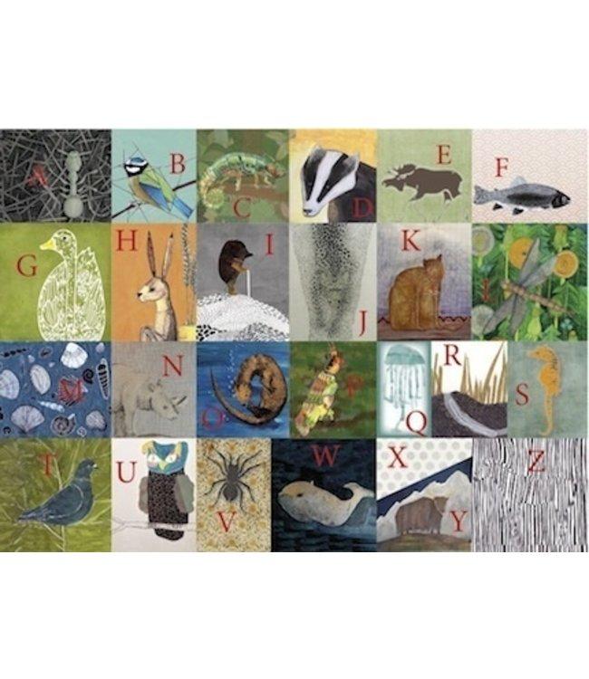 schnurkarten ABC der Tiere