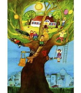 schnurkarten Wunschbaum