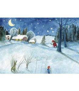schnurkarten Guter Nikolaus