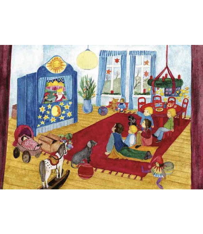 schnurkarten Adventszeit