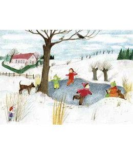 schnurkarten Winterkälte