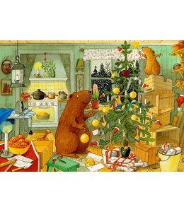 Hjelm Förlag Weihnachten bei Kasimir