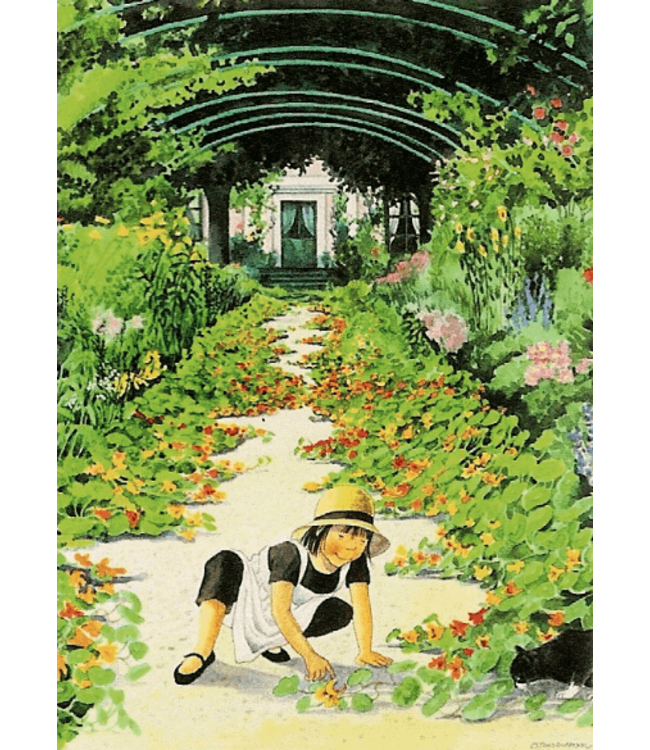 Hjelm Förlag Linnea in Monets Garten