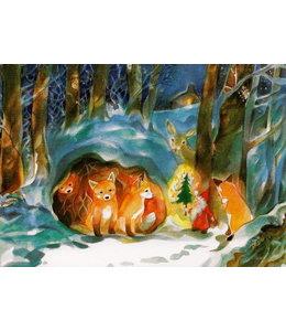 Marie-Laure Viriot Weihnachten im Wald