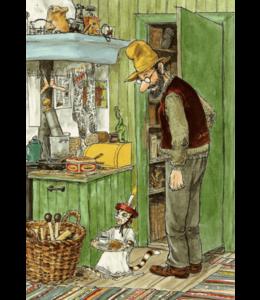 Hjelm Förlag Pettersson und Findus in der Küche