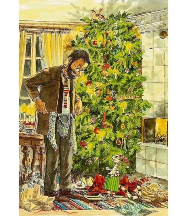 Hjelm Förlag Weihnachten bei Pettersson und Findus
