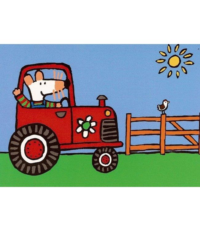 Hjelm Förlag Mausi im Traktor