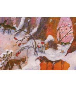Daniela Drescher Fuchs im Schnee