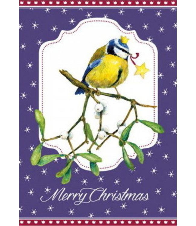 Daniela Drescher Merry Christmas Blaumeise
