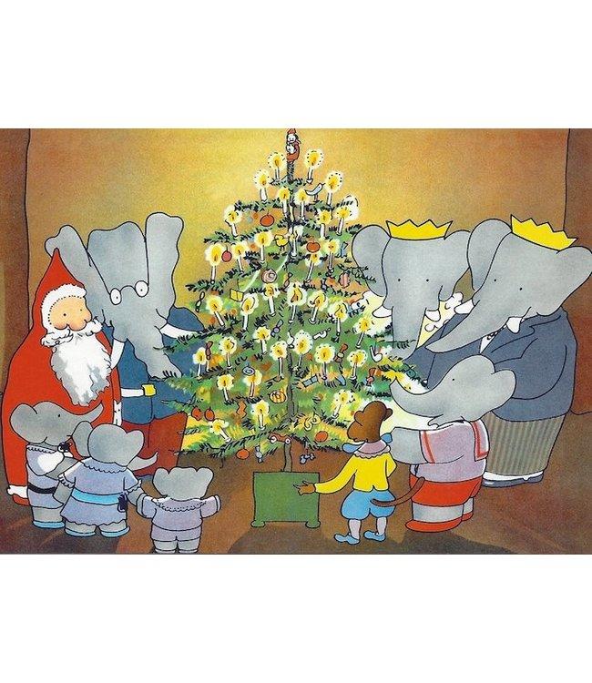 Hjelm Förlag Babar und der Weihnachtsmann