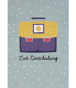 AVA & YVES Schulranzen - Sonne