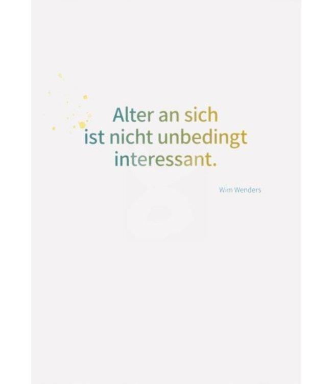 Kleebaum Verlag Wim Wenders