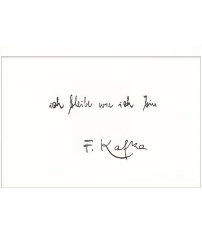 Kleebaum Verlag F. Kafka