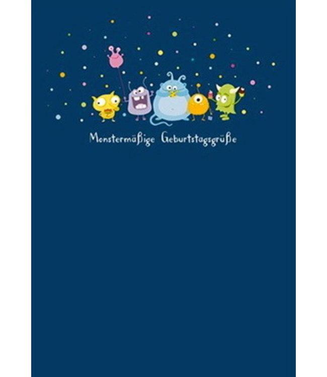 SKOWRONSKI & KOCH VERLAG Monstermäßige Geburtstagsgrüße