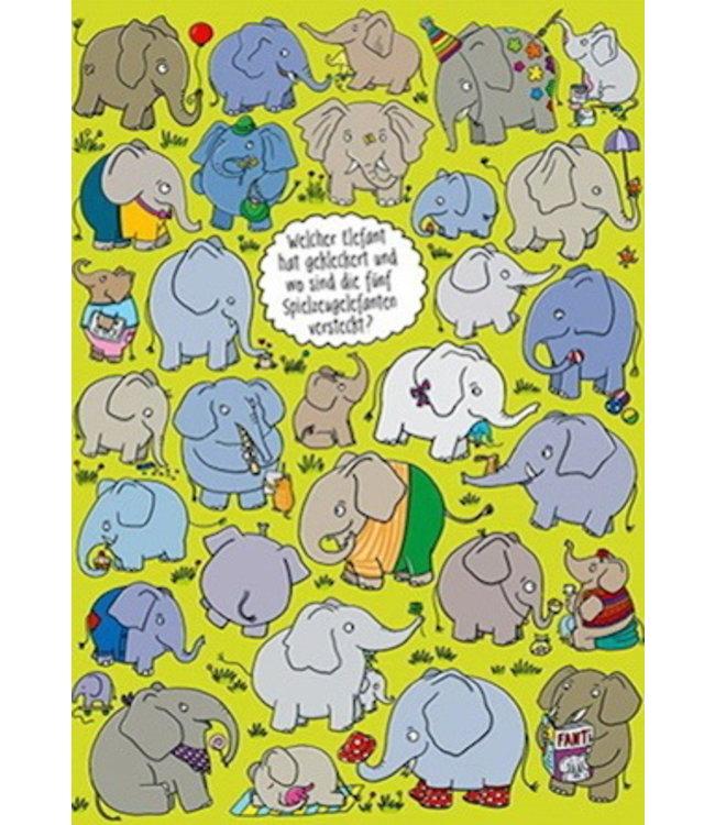 SKOWRONSKI & KOCH VERLAG Welcher Elefant hat gekleckert?