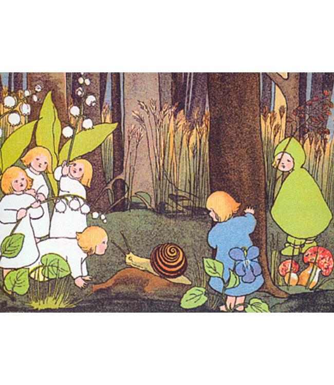Sibylle von Olfers Wurzelkinder im Wald