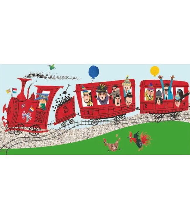 Fiep Westendorp Ab  gehts mit der Eisenbahn