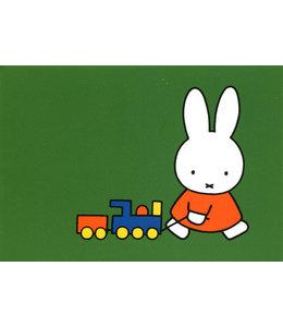 Dick Bruna Miffy und Eisenbahn