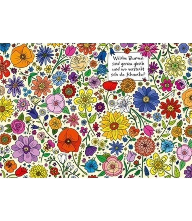 SKOWRONSKI & KOCH VERLAG Welche Blumen sind gleich und wo versteckt sich die Schnecke?
