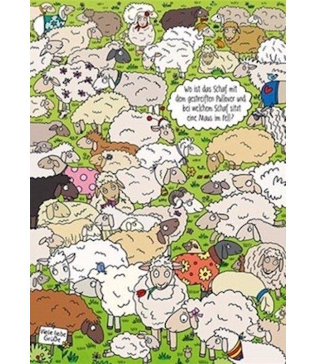 SKOWRONSKI & KOCH VERLAG Wo ist das Schaf mit dem gestreiften Pullover?
