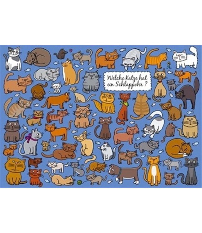 SKOWRONSKI & KOCH VERLAG Welche Katze hat ein Schlappohr?