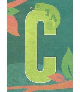 MONIMARI Buchstabenkarte C