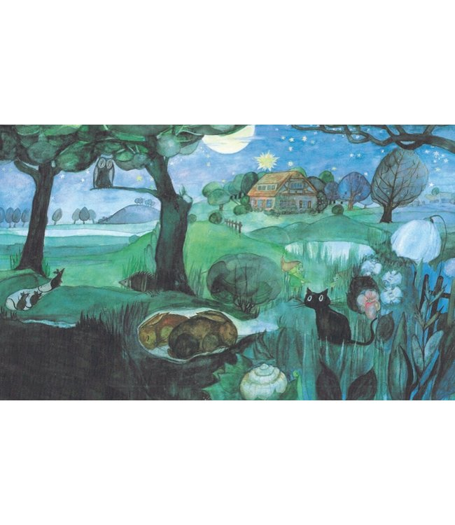 schnurkarten Sommernacht