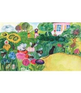 schnurkarten Im Garten